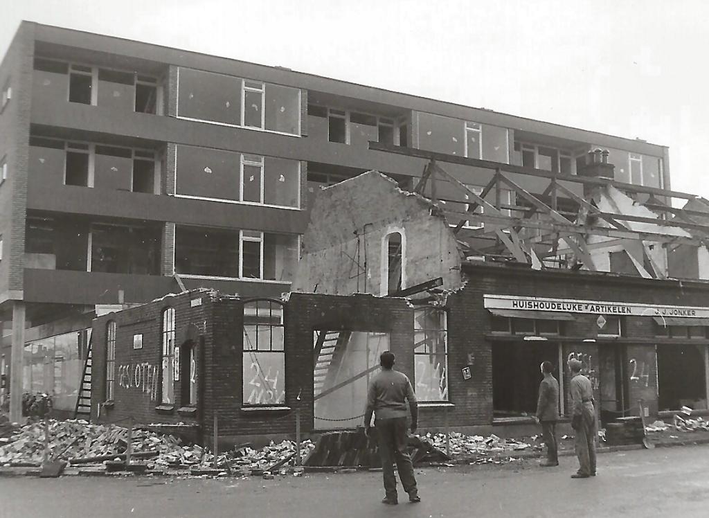 1966 Sloop winkel aan de Churchillweg