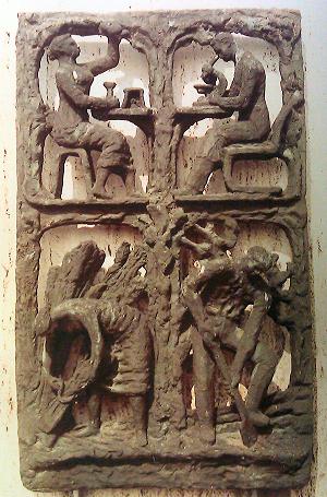 Bronzen gevelreliëf Fri Heil Gemeentearchief