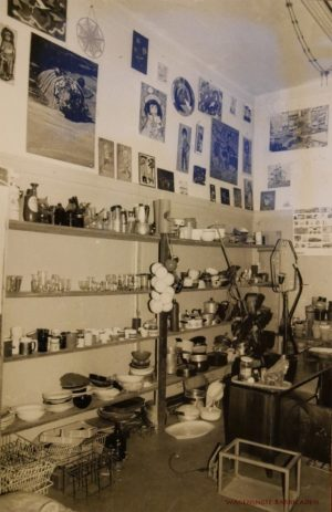 De winkel, vroeg jaren 80.